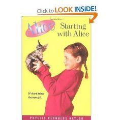 Amazon.com: Starting with Alice (9781416936855): Phyllis Reynolds Naylor: Books