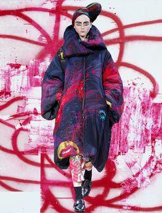 Yohji Yamamoto x Chtistopher Wool.