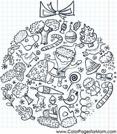 christmas coloring page 84