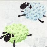 Susybee Lewe the Lamb Leaping Lambs