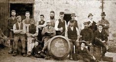 A bit of whisky history - Glenfarclas staff pictured in George Grant is the young lad sitting on the extreme right aged Whiskey And You, Whisky Shop, Blended Whisky, Red Pigment, Japanese Whisky, Buy Wine Online, Single Malt Whisky, Scotch Whiskey, Fine Wine