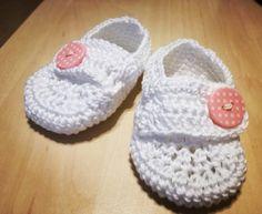 Háčkované botičky II. pro neteř