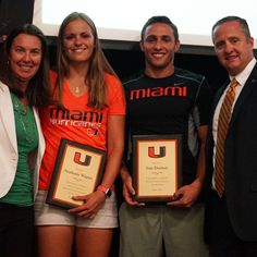 Female tennis player Stephanie Wagner and male diver Sam Dorman has been named both Male and Female Athletes Of The Year