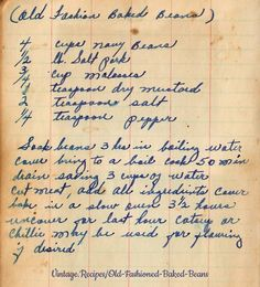Old Recipes, Fudge Recipes, Vintage Recipes, Chili Recipes, Cooking Recipes, Dinner Recipes, Old Fashioned Chili Recipe, Old Fashioned Recipes, Baked Beans From Scratch