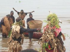 The Ngondo is an annual water-centered festival held by the Sawa (coastal peoples) in Douala, Cameroon