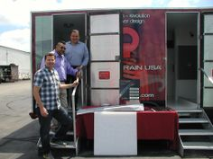 Quick Drain Trailer Tour - On the road with a Custom Trailer to spread the word about our revolutionary channel drain system. Learn how to reduce labor costs while improving installation, design and accessibility in the shower.