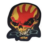 Five Finger Death Punch Knucklehead Cut Out Patch