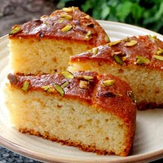 Egg Less Vanilla Tea Cake recipe by Namita Tiwari at BetterButter Eggless Desserts, Eggless Recipes, Eggless Baking, Delicious Cake Recipes, Yogurt Recipes, Eggless Muffins, Pudding Desserts, Cake Recipe Using Yogurt, Vanilla Tea