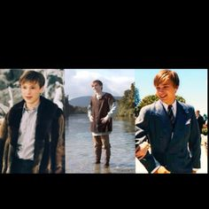 Peter through the years... always magnificent <3