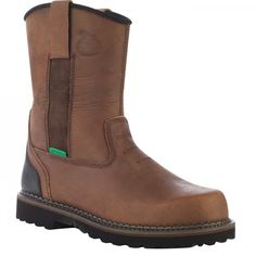 Georgia Boot Brookville Waterproof Wellington Work Boot G51  With its incredible durability, being so easy to get on/off, having features that will keep your feet dry and comfortable and having such a great outsole… you will want to wear this Georgia Brookville Waterproof Wellington Boot (#G5134) every day.