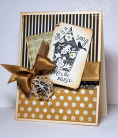Stamps used: Birdhouse – Designed by Deb Felts