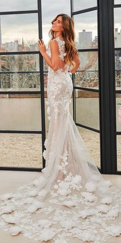 Revealing New Wedding Dresses 2019 ❤ See more: http://www.weddingforward.com/wedding-dresses-2019/ #weddingforward #bride #bridal #wedding