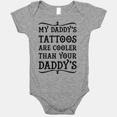 My Daddy's Tattoos Are Cooler Than Your Daddy's | HUMAN