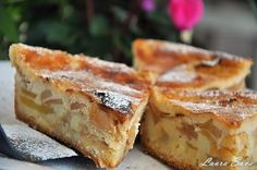 Romanian Desserts, Romanian Food, Romanian Recipes, Healthy Desserts, Dessert Recipes, Dessert Ideas, Good Food, Yummy Food, Something Sweet