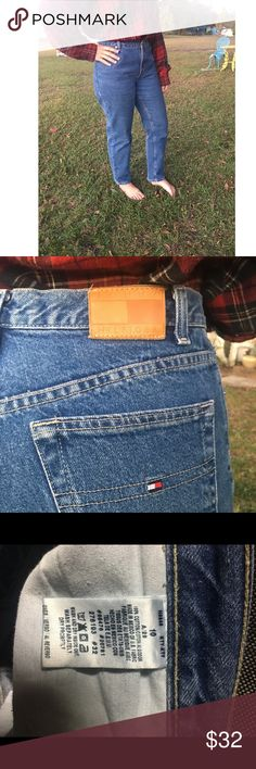 Tommy Hilfiger Jeans Size 10  Since these are vintage they do run smaller. If you are wanting to know other measurements please feel free to ask! Thanks  💕💕💕💕💕💕 Tommy Hilfiger Jeans Straight Leg