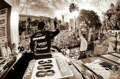 Starting podium #Dakar2015