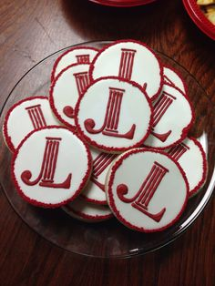 Adorable #JuniorLeague sugar cookies! via Junior League of Dayton, Ohio