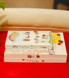 Such a good idea! Canvas Sketchbooks from Little Green Notebook