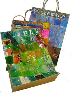 calendar bags