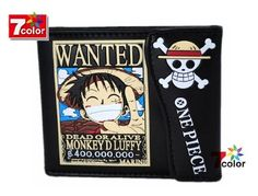 Monkey D. Luffy Japan Animation ????? One Piece Purse ID Cards « Clothing Impulse