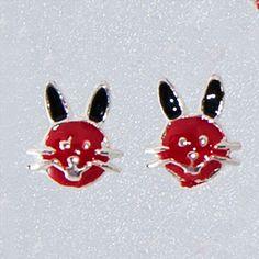 Cercei din argint pentru fetite Iepurasidoar pe www.silverbox.ro