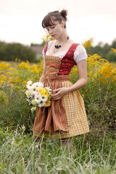 Where would I wear a dirndl other than Oktoberfest, Ren fest, and Halloween? In a perfect world, anywhere I damn well please.