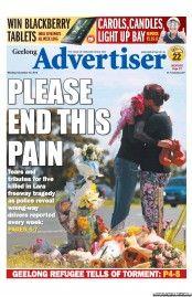Geelong Advertiser 10-12-2012 Australia