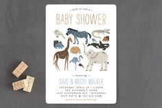 Wild Ride Baby Shower Invitations by Beth Schneider at minted.com