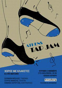 tap dance, jam, jazz