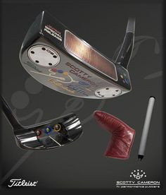 "The Putter ""the wand"" Scotty Cameron- Del-Mar-Buttonback Limited Edition. Awesome. @pinnitgolf #pinnitdream9holes #golf #pinnit"