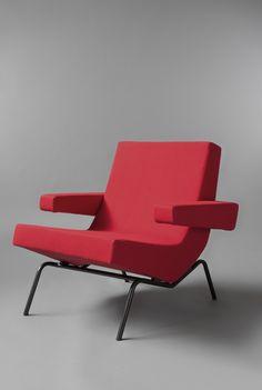 """Pierre PAULIN fauteuil CM195-2. Exposition """"Le siège français 1951-1961"""" du 6 septembre au 12 octobre 2014 à la galerie Pascal Cuisinier !"""