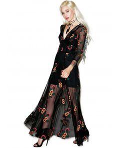 Wildfox Couture Paris Garden Halter Dress | Dolls Kill