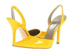 REVEL: Yellow Pumps