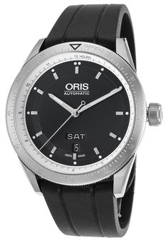 Oris 0173576624174-0742120FC Watches,Men's Artix GT Automatic Black Rubber and Dial, Luxury Oris Automatic Watches