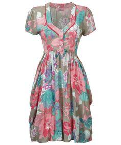 Women's Dresses   Fun Loving Floral Dress   Women's Clothing at Joe Browns
