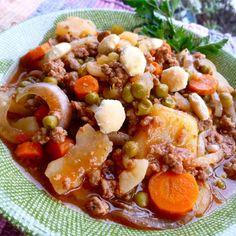 Hamburger Soup II Slow Cooker Recipes, Crockpot Recipes, Soup Recipes, Dinner Recipes, Cooking Recipes, Easy Recipes, Cheap Recipes, Savoury Recipes, Popular Recipes