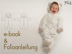Schnittmuster Overall Cassia in 2 Modellvarianten von pattern4kids - Schnittmuster für Baby- und Kinderkleider als ebook download oder klassischer Papierschnitt mit Nähanleitung und vielen Bildern auf DaWanda.com
