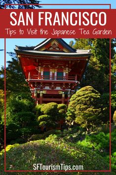 Discover tips to visit the gorgeous Japanese Tea Garden in San Francisco. See pictures from my last visit, find out how to get here and what there is to see and do nearby. Travel Around The World, Around The Worlds, Cruise Excursions, Golden Gate Park, Dibujos Cute, San Francisco Travel, California Travel, Northern California, Travel Usa