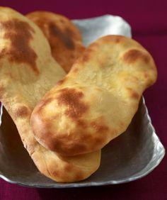 Naan-Brot - Indische Küche: herzhafte Rezepte - [ESSEN & TRINKEN]