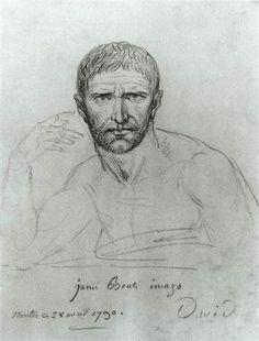 Brutus - Jacques-Louis David
