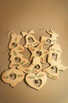Ялинкові прикраси від Пташка декор . Сhristmas tree ornaments by Ptashka-decor