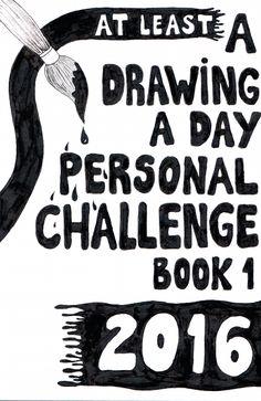 Desafio 365 - Desenho do Dia #1 - Soraia Casal