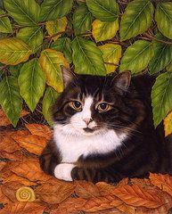 Anne Mortimer Art - The Hideaway by Anne Mortimer