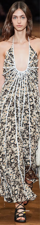 Stella McCartney Spring 2020 RTW | Sparkly Gold ● Floral Fashion, Fashion Design, Ralph And Russo, Roksanda, Sonia Rykiel, Stella Mccartney, Product Description, Gowns, Couture