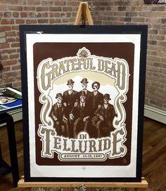 Healthy Rhythm Art Gallery — Grateful Dead • Special '07 Edition Screen Print Art Gallery, Art Prints, Music Print, Rhythm Art, Gold Ink, Screen Printing, Art, Top Artists, Ink