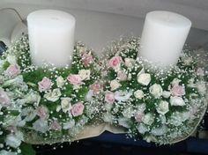 Στολισμός γάμου κωδ.007 Floral Wreath, Wreaths, Table Decorations, Home Decor, Decoration Home, Room Decor, Bouquet, Dinner Table Decorations, Flower Band