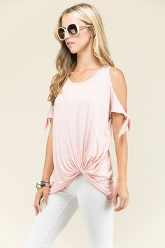 Just in Solid Cold Should.... These will fly out the door! http://www.sassystorehouse.com/products/solid-cold-shoulder-self-tie-front-knotted-tunic-tied-up-tunic-presale?utm_campaign=social_autopilot&utm_source=pin&utm_medium=pin