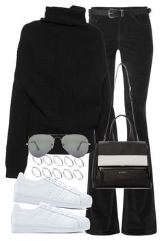 Sin título #989 by osnapitzvic on Polyvore featuring polyvore, fashion, style, Acne Studios, M.i.h Jeans, adidas Originals, Givenchy, ASOS, Ray-Ban, Forever 21 and clothing