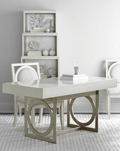 Anjali Office Furniture by Bernhardt at Horchow.