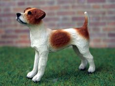 Dolls House Jack Russell Dog. A1169.